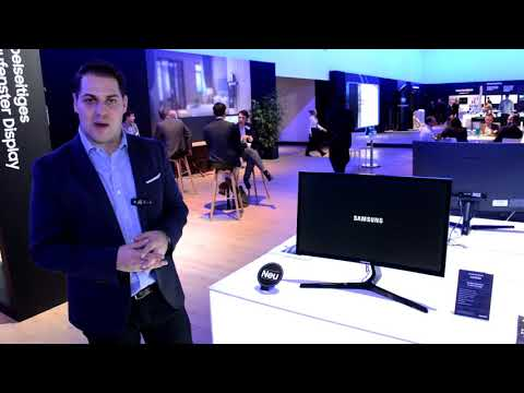 """Samsung Roadshow 2019 - C24RG5 24"""" curved Gaming Monitor für Einstiegsgamer"""