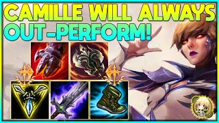 Cree | CAMILLE WILL ALWAYS OUT-PERFORM A VOLIBEAR! (UNRANKED TO MASTERS)