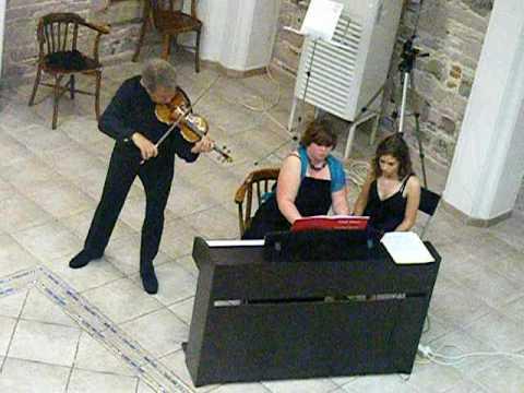 Brahms scherzo in c minor - Pierre Amoyal