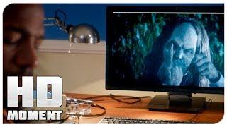 Демон прикалывается над Малколмом - Дом с паранормальными явлениями 2 (2014) - Момент из фильма