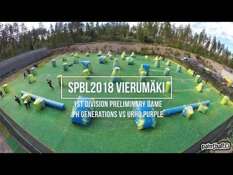 Ph Generations vs Urho purple - SPBL2018 Vierumäki