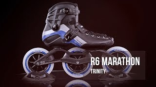 Powerslide R6 Marathon Trinity - Racing inline skates