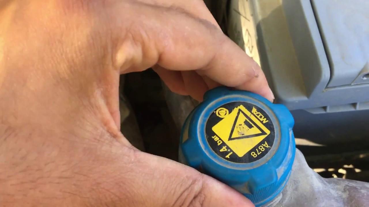 tüm renault vede megane 2 hararet termostat bilgilendirme cihazla bakmak