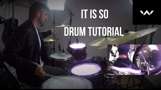 Download It Is So   Live   At Midnight   Elevation Worship   Drum Tutorial - Worship Drummer   Sergio Torrens Mp3 and Videos