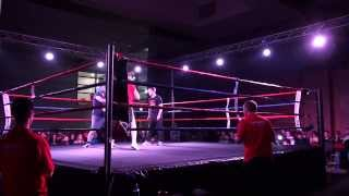 White Collar Boxing Nov 2013. Joe Joyce vs Stephen McDonald
