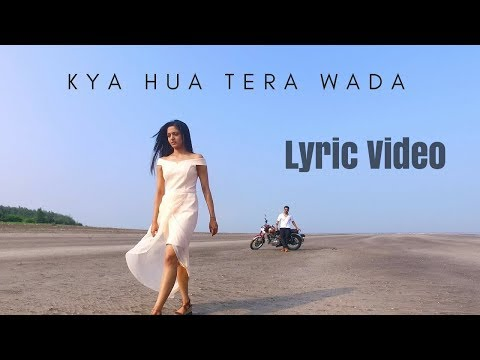Kya Hua Tera Wada   Unplugged Cover   Pranav Chandran   Mohammad Rafi Songs Lyric Video