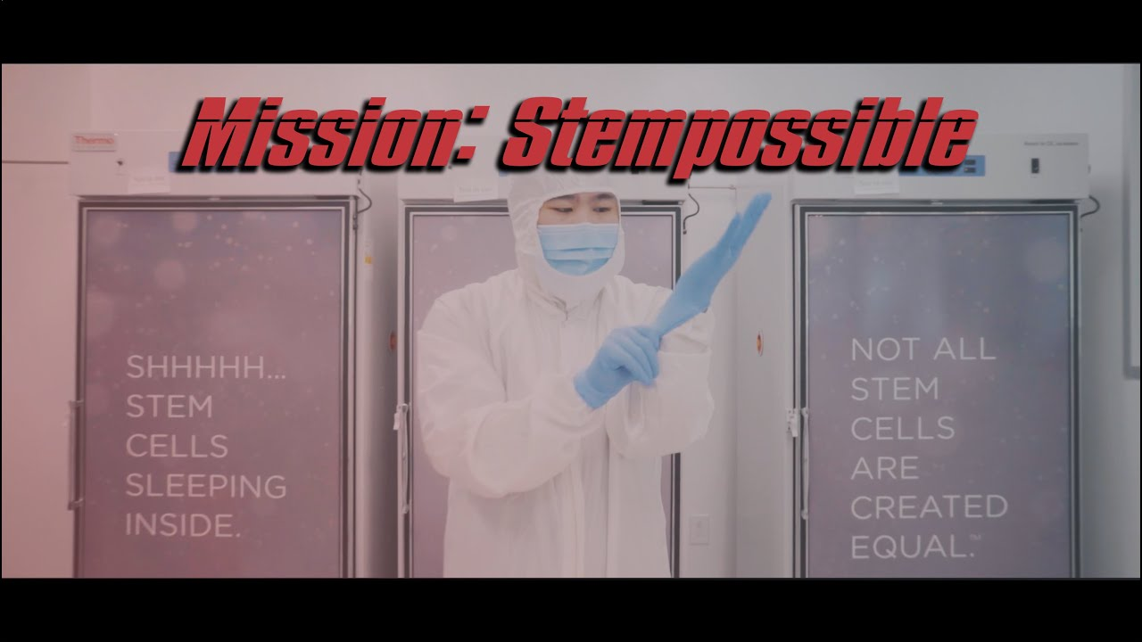 MISSION: STEMPOSSIBLE - NOT ALL STEM CELLS ARE CREATED EQUAL