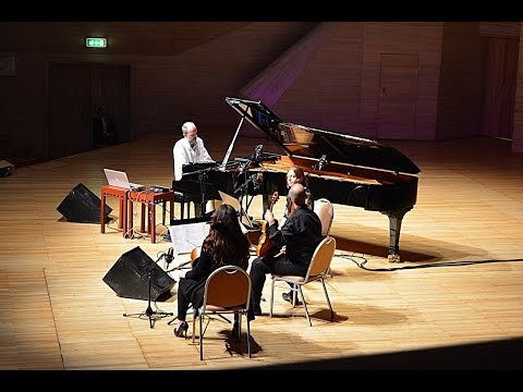 Fabrizio Paterlini's concert in Moscow International House of Music.29.05.15