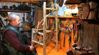 Odunlardan doğal sandalye yapımı