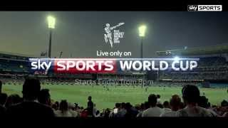 #FireItUp - ICC Cricket World Cup 2015 live on Sky Sports