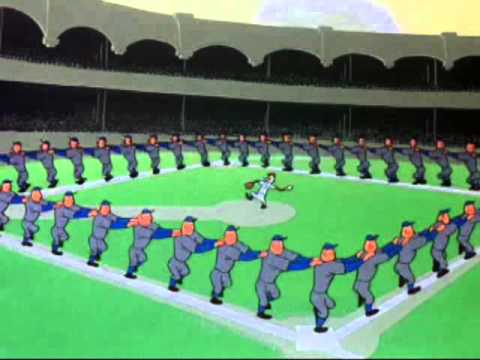 Baseball Bugs Conga Line