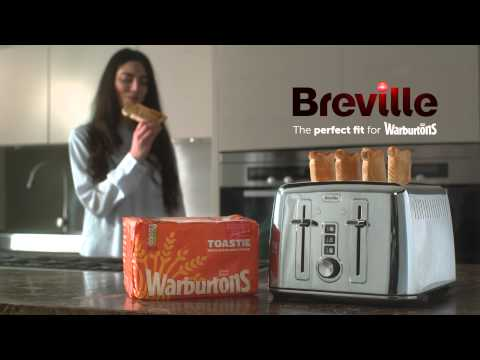 Breville®  4 Slice Toaster | Toast To The Top! | Elevator