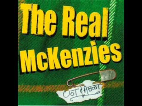 the real mckenzies dance around the whisky