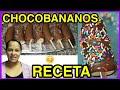 CÓMO HACER CHOCO BANANOS - PASO A PASO - Zara Martínez