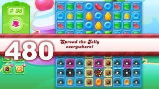 Candy Crush Jelly Saga Level 480 (3 star, No boosters)