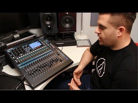 Allen & Heath QU-16 Digital Mixer Overview