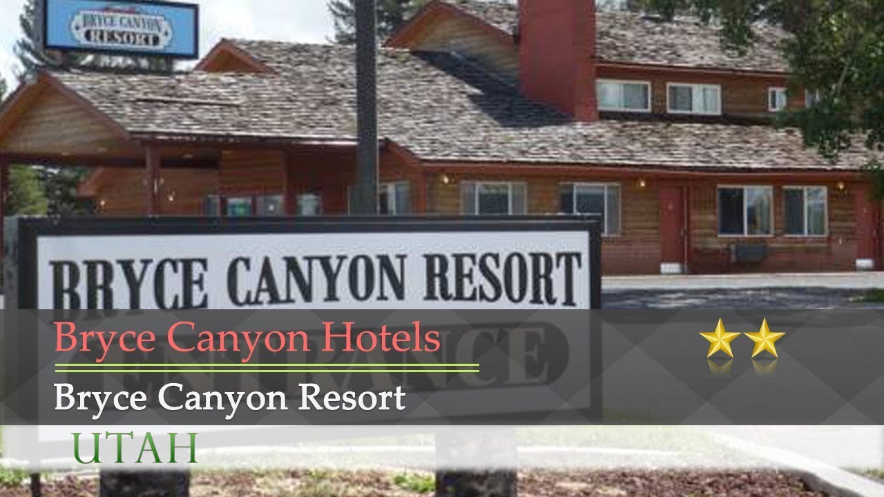 Bryce Canyon Resort Hotels Utah