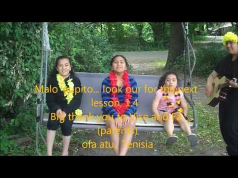 Tenisia teaching learning comparative Tongan language 1.3 - musical alphabet