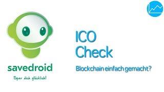 savedroid ICO Review: Crypto sparen per App - SVD Token pre-Sale analysiert