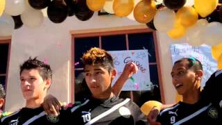 Watsonville High Wildcatz soccer championship celebration