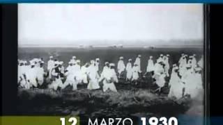 12 marzo 1930 Gandhi comincia la marcia del sale