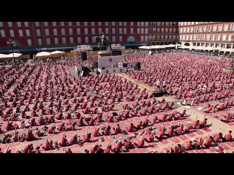 Free Yoga by Oysho | Madrid 2015