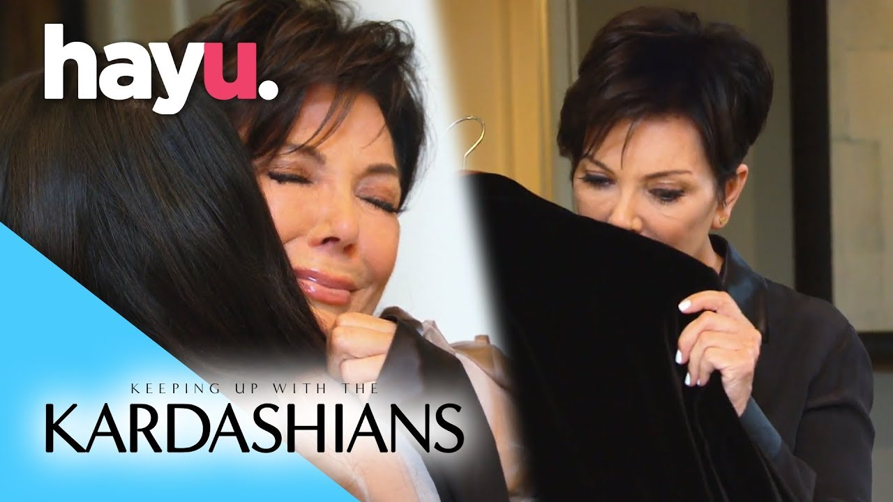 Download Kris Breaks Down Holding Bruce's Old Clothes   Keeping Up With The Kardashians