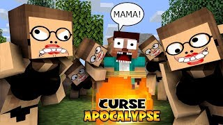 MONSTER SCHOOL :  UGLY LOVE CURSE APOCALYSE - FUNNY MINECRAFT ANIMATION