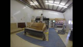LM CNC Machine: Transom