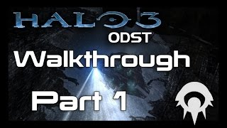 Halo 3: ODST Walkthrough - Part 1 - Tayari Plaza