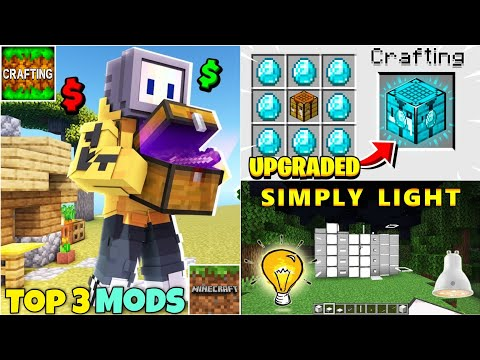 Top 3 Most Popular Mods For Crafting And Building And Minecraft Pocket Edition
