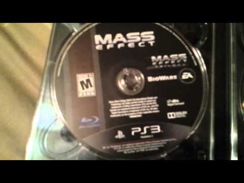 Mass Effect Trilogy Unboxing (PS3)