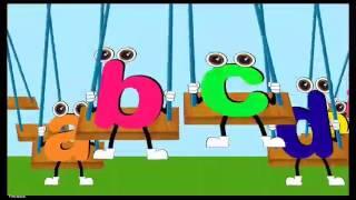 Алфавит на английском языке для самых маленьких. Развивающее видео.