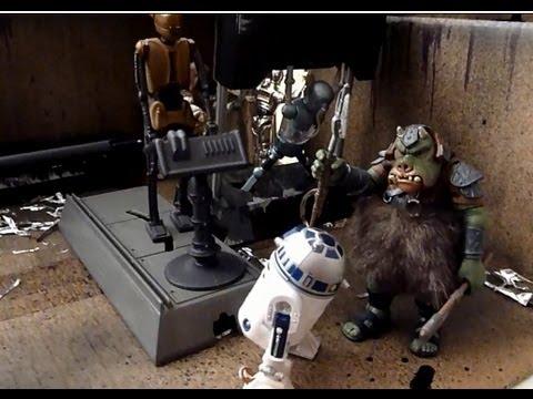 Jabba's Droid Torture Chamber Diorama