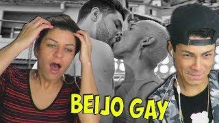 MINHA MÃE REAGINDO A BEIJO GAY DO CLIPE ME SOLTA NEGO DO BOREL