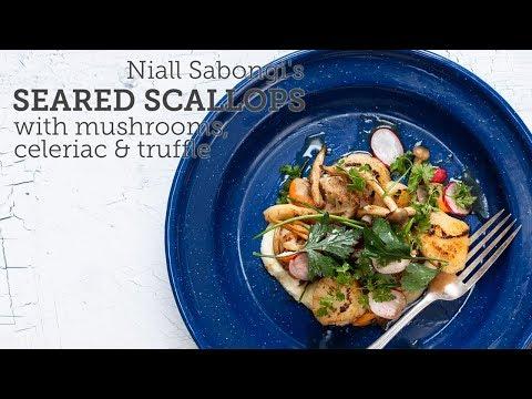 Niall Sabongi's Seared Scallops With Celeriac Purée
