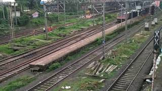 Horrible Late Running Varanasi Express Skipping Dombivli With ED WAP-4.