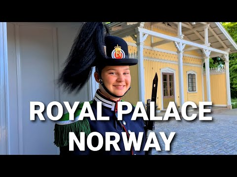 Royal palace | King palace | Oslo | Norway | Part 1 | Amazing world by shahrukh sohail |