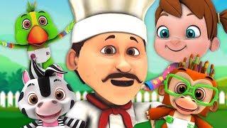 caldo cross panini | rima in italiano | canzone per bambini | Hot Cross Buns | Little Treehouse