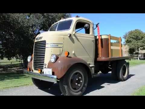 Sold 1946 Dodge Coe Cabover Youtube