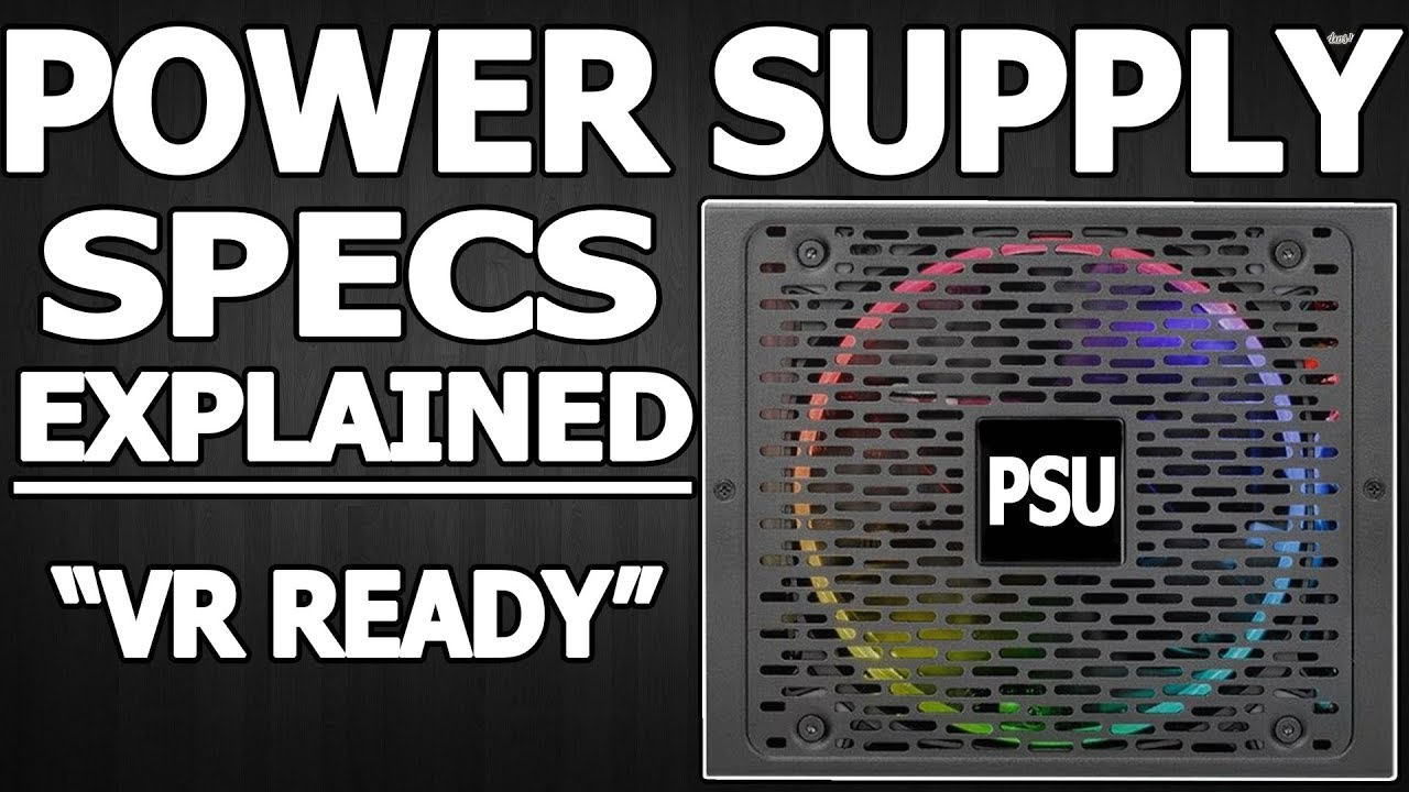 computer power supply specifications explained youtube