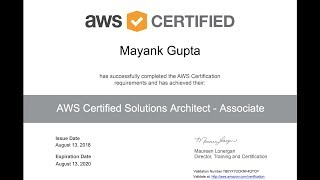 How To Pass AWS Certified Solutions Architect Associate Exam 2018