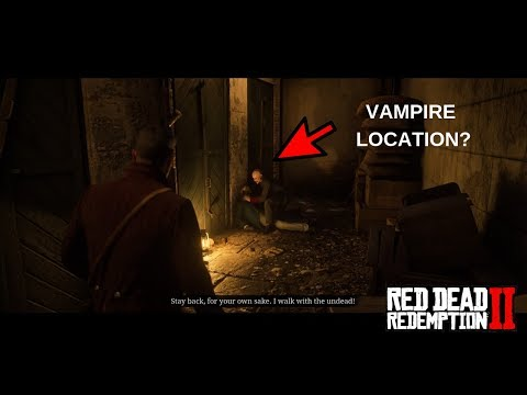 Red Dead Redemption 2: How To Find The Vampire In Saint Denis thumbnail