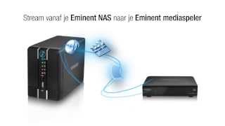 Stream vanaf je Eminent NAS naar je Eminent media player