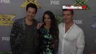 Alex & Sierra, Simon Cowell arrive at FOX