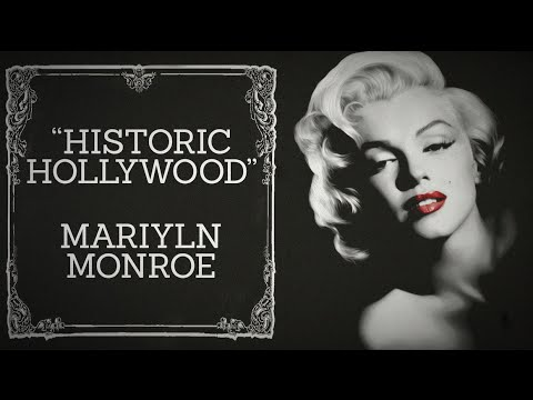 Marilyn Monroe Discussion pt. 2 - Historic Hollywood (November 8th, 2015