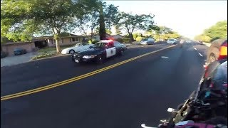 BIKERS VS COPS - Best Motorcycle Police Chase Compilation #23 - FNF