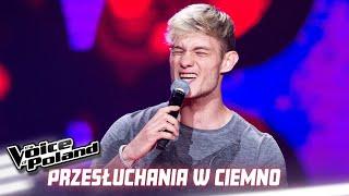 """Patryk Żywczyk - """"Way Down We Go"""" - Przesłuchania w ciemno - The Voice of Poland 10"""