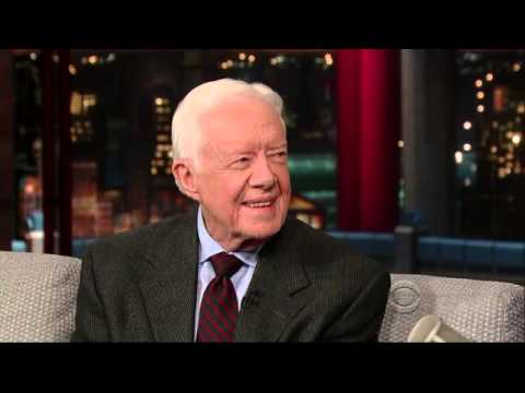Jimmy Carter Letterman 2014 0324 HQ