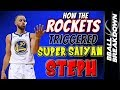 How The Rockets Triggered SUPER SAIYAN STEPH